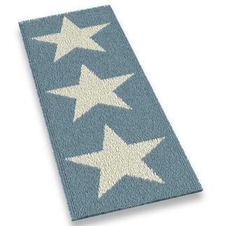 Läufer - White Stars, 60 x 180 cm Stars und Sternchen-Erfolgsdesigns jetzt auch als lange Läufer.