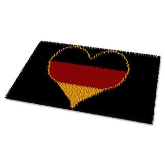 Fußmatte - Deutschland Deutschland im Fußballfieber.