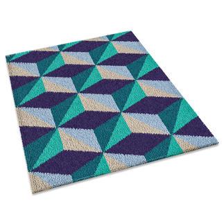 Teppich - Illusion Modisch und jung