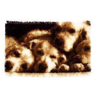 Wandbehang - Hunde Knüpfideen – schnell und leicht.