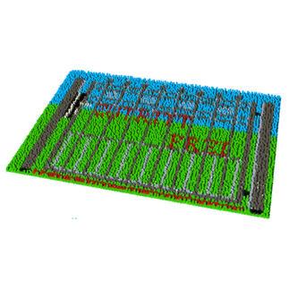 Fußmatte - Zutritt frei