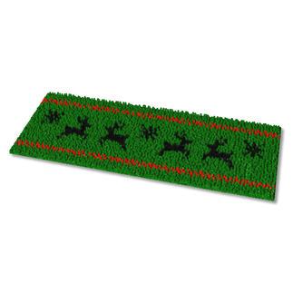 Fußmatte - Springender Hirsch