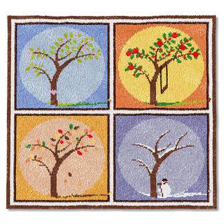 Wandbehang - Vier Jahreszeiten
