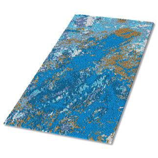 Teppich - Blauer Marmor