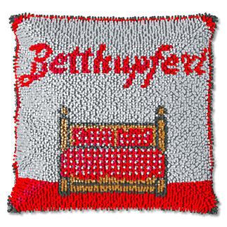 Knüpfkissen - Betthupferl, B-Ware