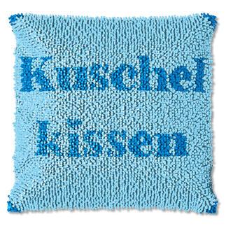 Knüpfkissen - Kuschelkissen, B-Ware