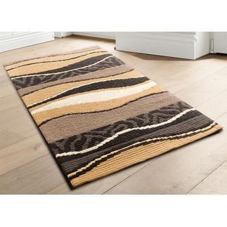 Longstickteppich - Batida, Natur Stickteppiche - die robusten Prachtstücke