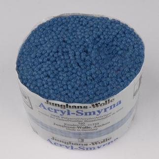 Acryl-Smyrna-Knüpfpack, 50 g Für Ihre eigenen Entwürfe: hochwertige Junghans-Garne zum Knüpfen Für Ihre eigenen Entwürfe: hochwertige Junghans-Garne zum Knüpfen