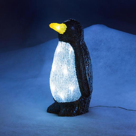Deko LED-Pinguin