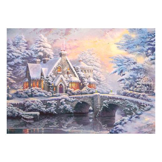 Winter in Lamplight Manour