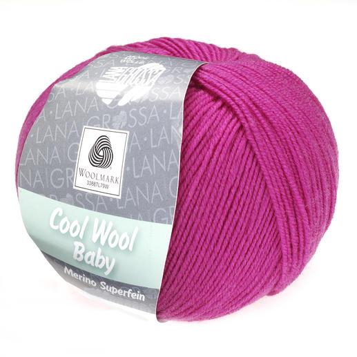 Cool Wool Baby Merino Superfein von Lana Grossa, Zyklam