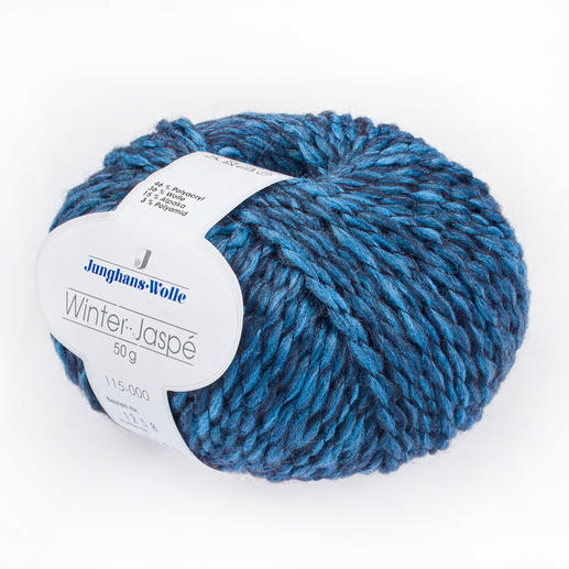 Winter-Jaspé von Junghans-Wolle