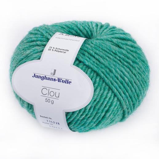 Clou von Junghans-Wolle, Grün
