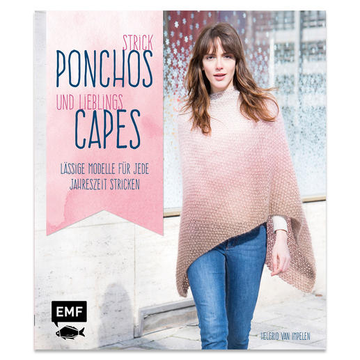 Buch - Strick Ponchos und Lieblings Capes