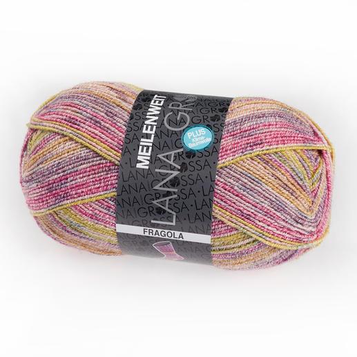 Meilenweit Cotton Stretch Fragola von Lana Grossa