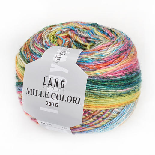 Mille Colori 200 g von LANG Yarns inkl. Anleitung