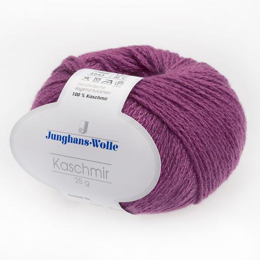 Kaschmir von Junghans-Wolle Flaumzarter Luxus auf Ihrer Haut.