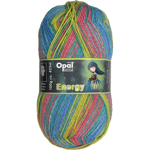 Opal Pullover- & Sockenwolle Energy 4-fach, Initiative