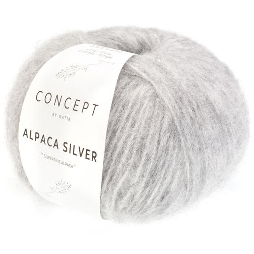 Alpaca Silver von Katia