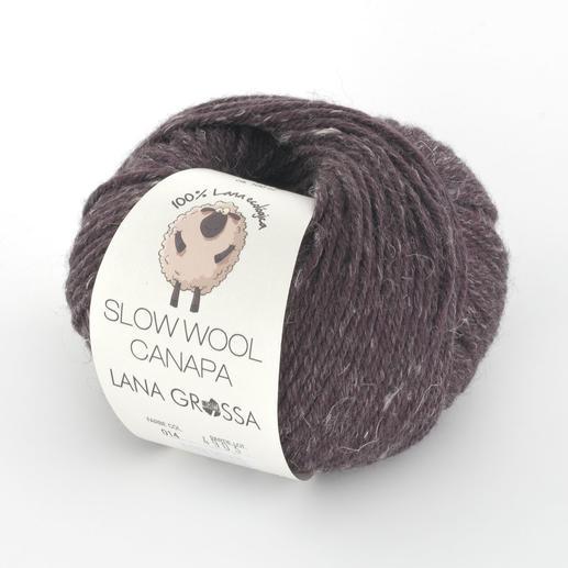 Slow Wool Canapa von Lana Grossa