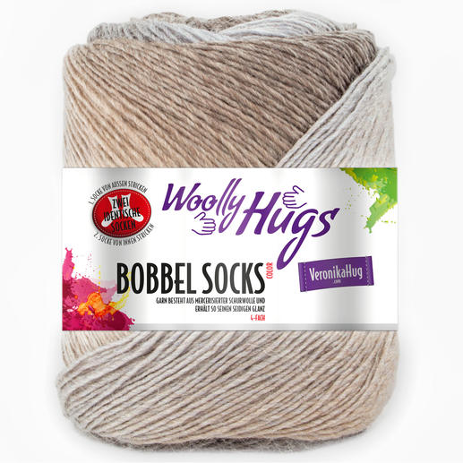 Bobbel Socks Color von Woolly Hugs