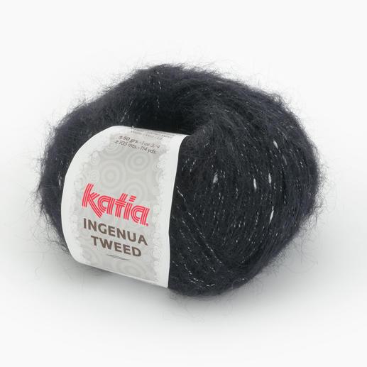 Ingenua Tweed von Katia, Schwarz/Weiß