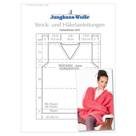 Anleitungsheft WoolDesign Herbst/Winter 2019