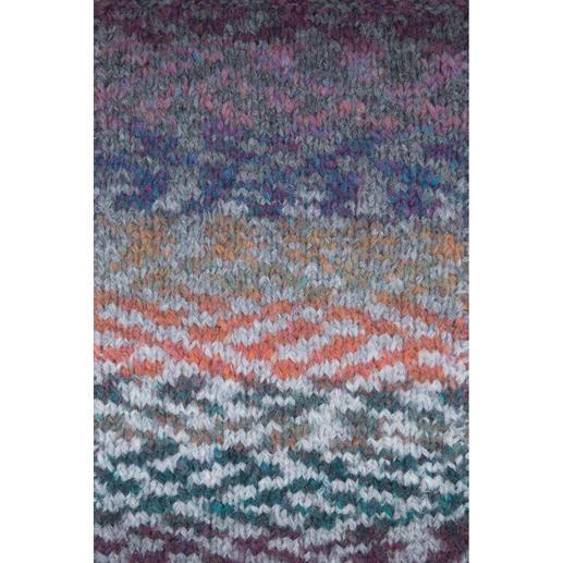 01 Türkis-Ockerbraun-Grau-Violett-Mix-Color