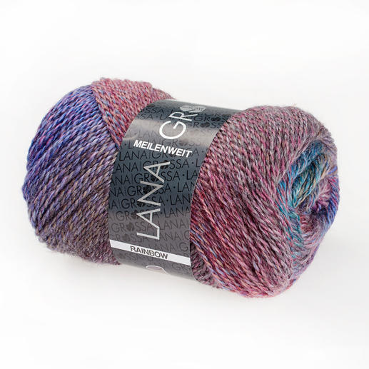 105 Dunkelrot/Lila/Türkis