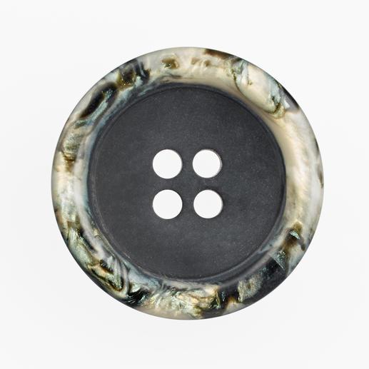 Jim Knopf - Knopf Iris, Schwarz, Ø 21 mm, 1 Stück
