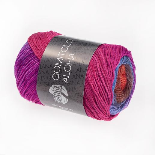 307 Nachtblau/Blauviolett/Zyklam/Bordeaux/Braunorange/Rotbraun/Pink