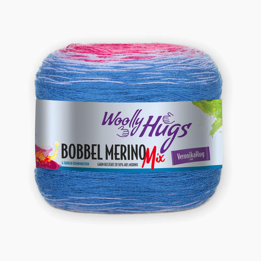 Bobbel Merino Mix von Woolly Hugs