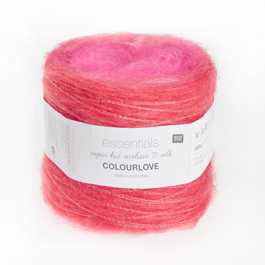 Essentials Super Kid Mohair Loves Silk Colourlove von Rico Design