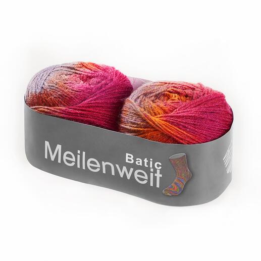 Sockenwolle Meilenweit 100 Batic von Lana Grossa