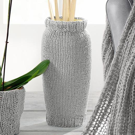 Anleitung 170/1, Vasenhülle aus Bandana von Junghans-Wolle