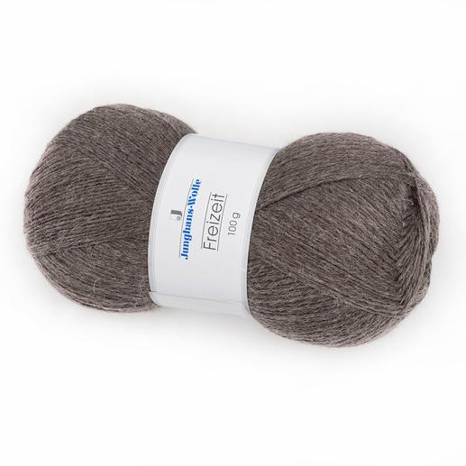 Sockenwolle Freizeit uni, 4-fädig von Junghans-Wolle