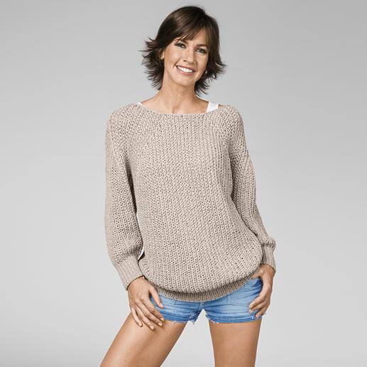 Anleitung 434/3, Oversize Pullover aus Bandana von Junghans-Wolle