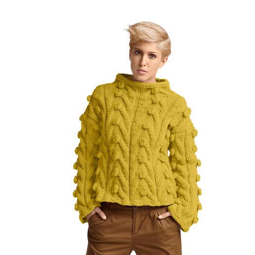 Anleitung 213/4 Pullover aus Merino Dick von Junghans-Wolle