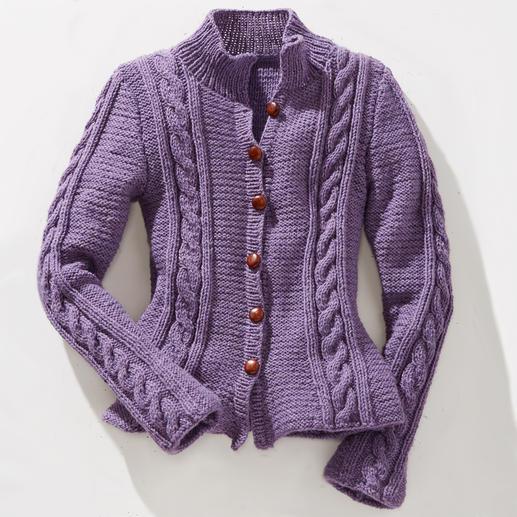 Anleitung 815/3, Damenjacke aus Landwolle von Junghans-Wolle
