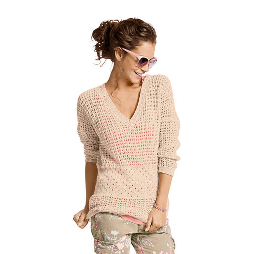 Anleitung 280/4, Oversized-Pullover aus Contrato von Junghans-Wolle