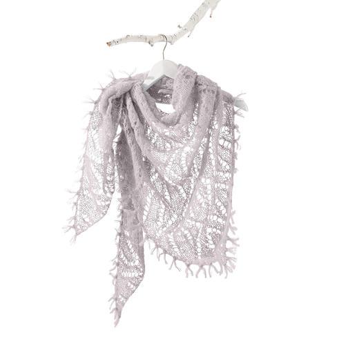 Anleitung 180/4, Dreiecktuch aus Aerea von Junghans-Wolle