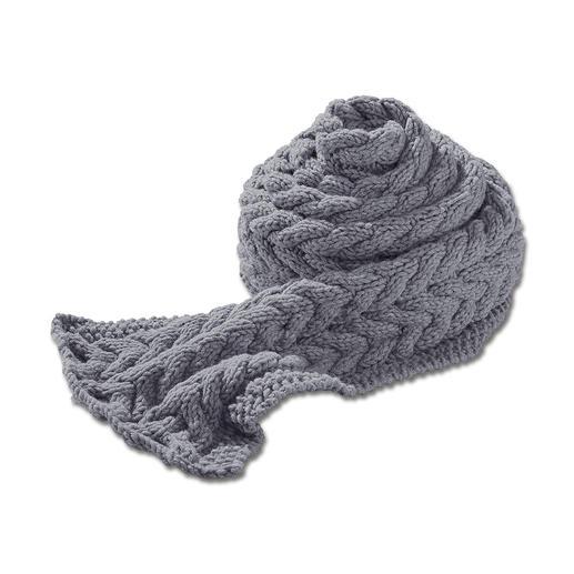 Anleitung 099/5, Schal in 2 Größen aus Merino-Dick von Junghans-Wolle