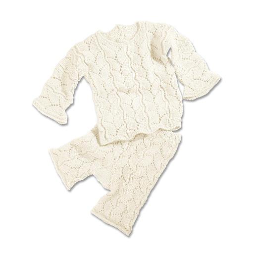 Anleitung 247/4, Pullover mit Hose aus Merino-Supersoft von Junghans-Wolle