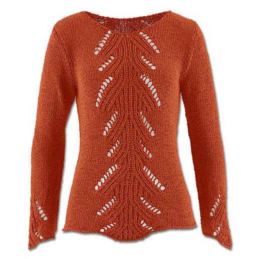 Anleitung 018/5, Pullover aus Bandana von Junghans-Wolle