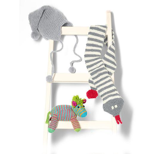 Anleitung 142/5, Zebra aus Pinta von Junghans-Wolle