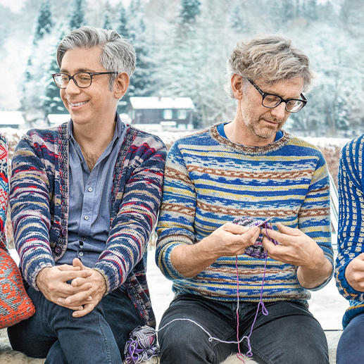 Anleitung 391/6, Pullover aus Merino Extrafine Color 120 von Schachenmayr