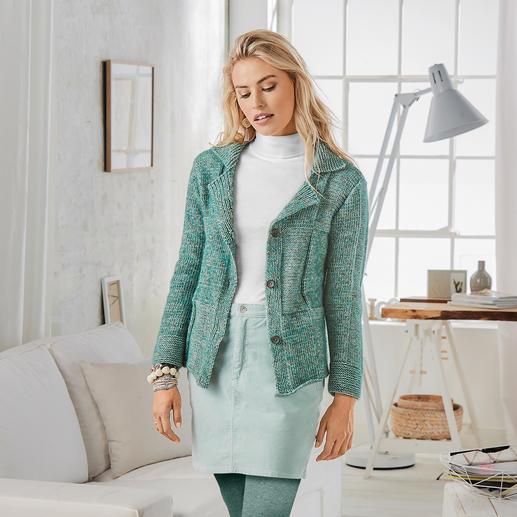 Anleitung 010/8, Pullover aus Alpaca-Cotton von Junghans-Wolle