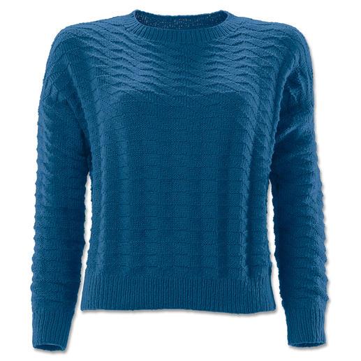Anleitung 201/7, Damen Pullover aus Fluffina von Junghans-Wolle