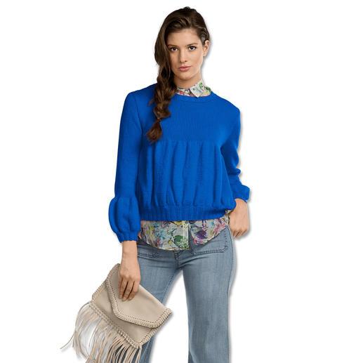 Anleitung 311/7, Damen Pullover aus Fluffina von Junghans-Wolle