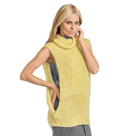 Anleitung 385/7, Damen Pullunder, 2-fädig aus Aerea von Junghans-Wolle